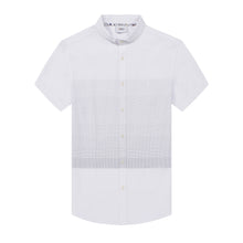 Load image into Gallery viewer, White Stripe S/S Shirt (Daddy & Son)