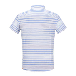Blue Multi-Stripe S/S Shirt (Daddy & Son)