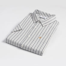 Load image into Gallery viewer, Grey Stripe S/S Shirt