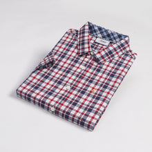 Load image into Gallery viewer, Red Western Check S/S Shirt (Daddy & Son)