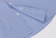 Load image into Gallery viewer, Blue Stripe Button Down S/S Shirt
