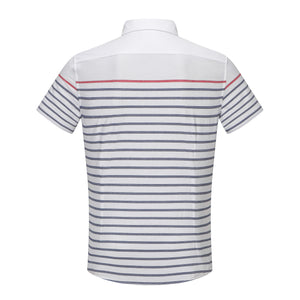 Contrast Stripe S/S Shirt (Daddy & Son)