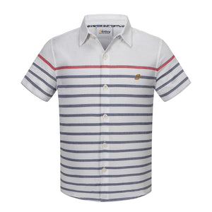 Mini Contrast Stripe S/S Shirt (Daddy & Son)