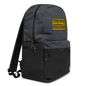 Terra Nova Percussion Embroidered Champion Backpack-Marching Arts Merchandise-Marching Arts Merchandise