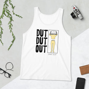 Love Dut Dut Out Color Guard Unisex Tank Top-Marching Arts Merchandise-Marching Arts Merchandise