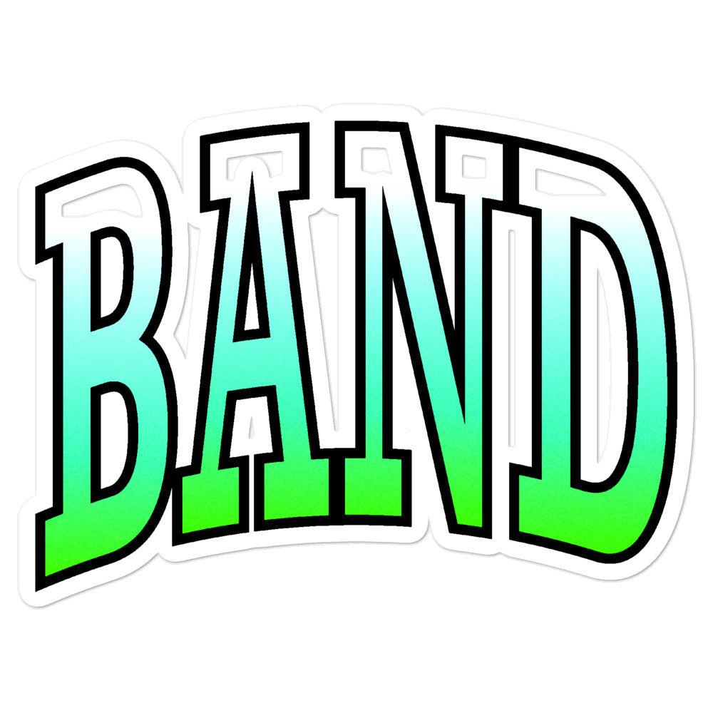 Ombre Band Bubble-Free Stickers-Marching Arts Merchandise-5.5x5.5-Marching Arts Merchandise