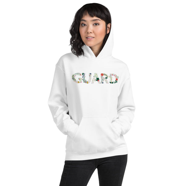 Color Guard Floral Unisex Hoodie - Marching Arts Merchandise -  - Marching Arts Merchandise - Marching Arts Merchandise - band percussion color guard clothing accessories home goods