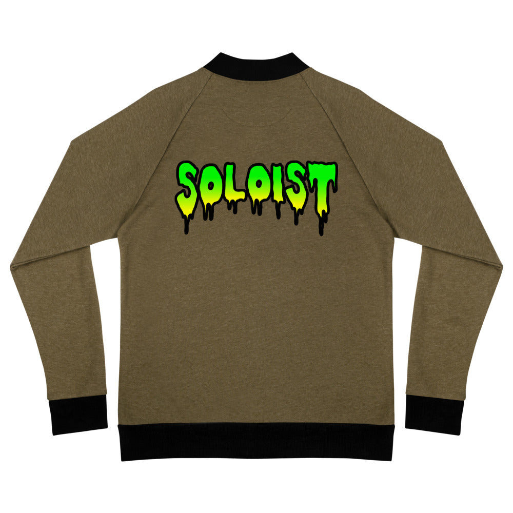 Soloist Bomber Jacket-Marching Arts Merchandise-Heather Military Green-S-Marching Arts Merchandise