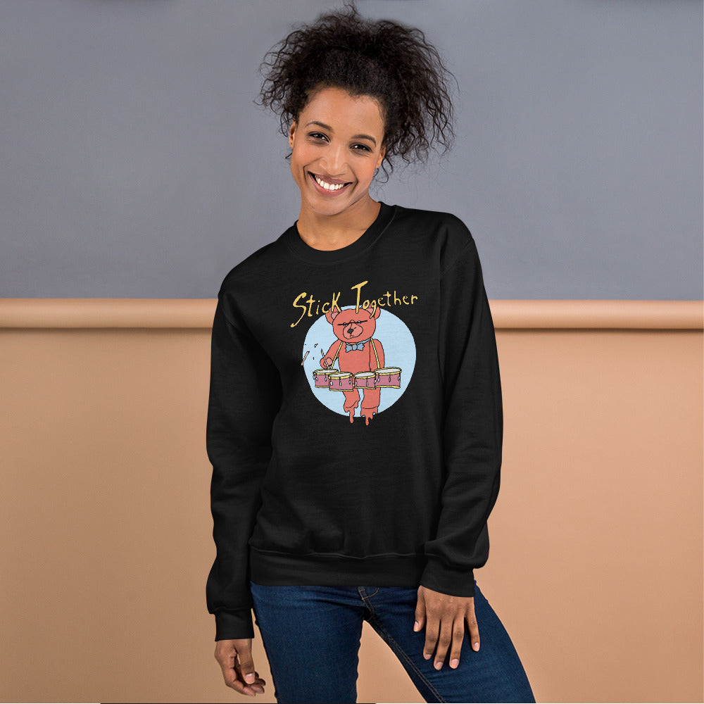 Teddy Tenor Percussion Unisex Sweatshirt-Marching Arts Merchandise-Marching Arts Merchandise