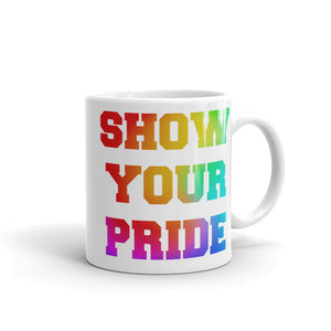 Show Your Pride Marching Band Mug-Mug-Marching Arts Merchandise-11oz-Marching Arts Merchandise