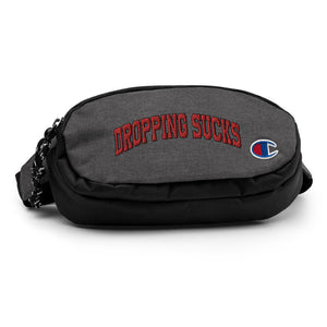 Dropping Sucks Champion Fanny Pack-Marching Arts Merchandise-Marching Arts Merchandise