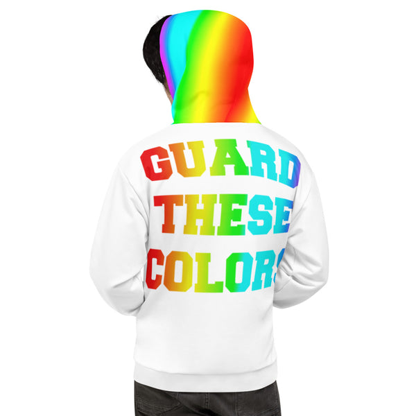 Guard These Colors Pride Unisex Hoodie - Marching Arts Merchandise -  - Marching Arts Merchandise - Marching Arts Merchandise - band percussion color guard clothing accessories home goods