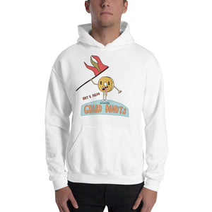 Flag Donuts Color Guard Unisex Hoodie-Marching Arts Merchandise-Marching Arts Merchandise