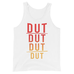 DUT DUT DUT DUT Percussion Unisex Tank Top-Marching Arts Merchandise-White-XS-Marching Arts Merchandise