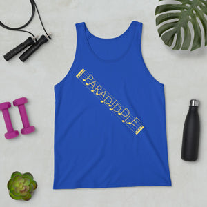 Paradiddle Strap Percussion Unisex Tank Top-Marching Arts Merchandise-Marching Arts Merchandise