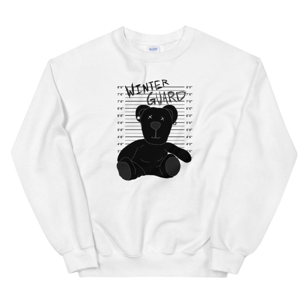 Winter Teddy Color Guard Unisex Sweatshirt-Marching Arts Merchandise-White-S-Marching Arts Merchandise