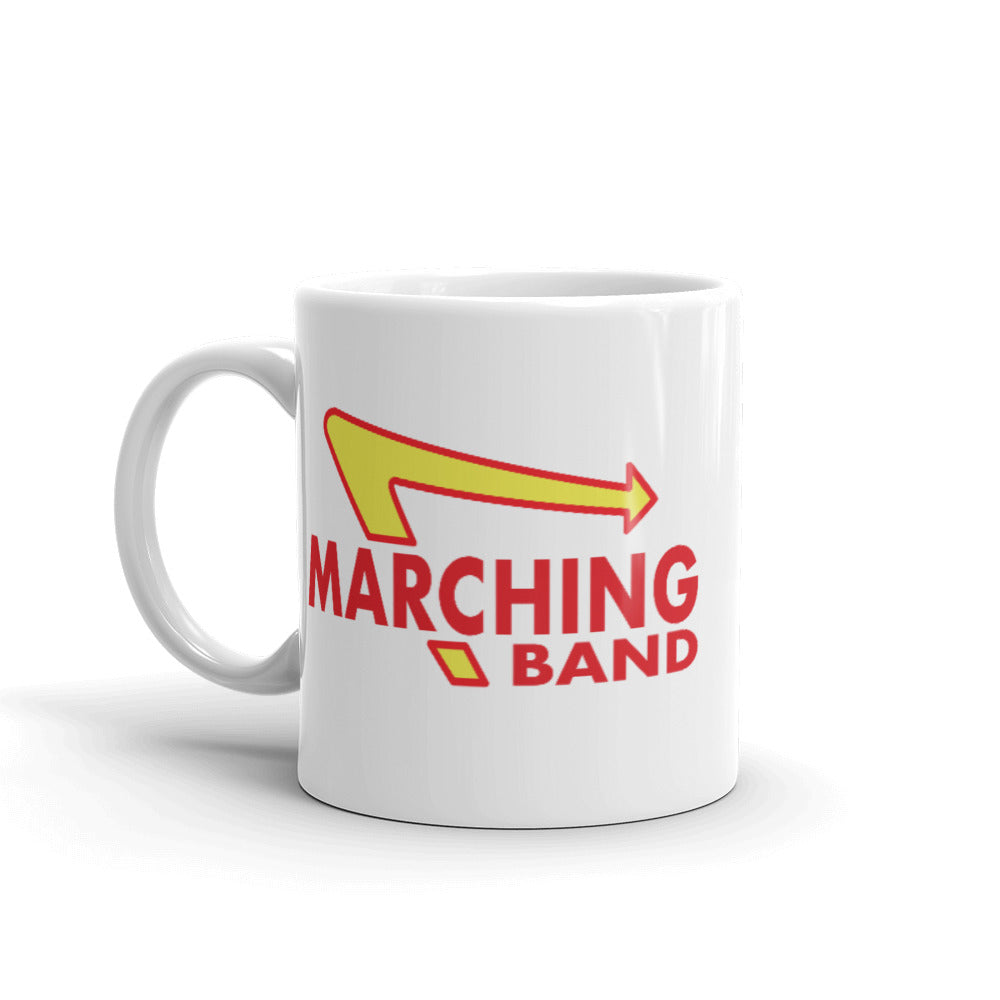 Marching Burgers Mug-Marching Arts Merchandise-Marching Arts Merchandise
