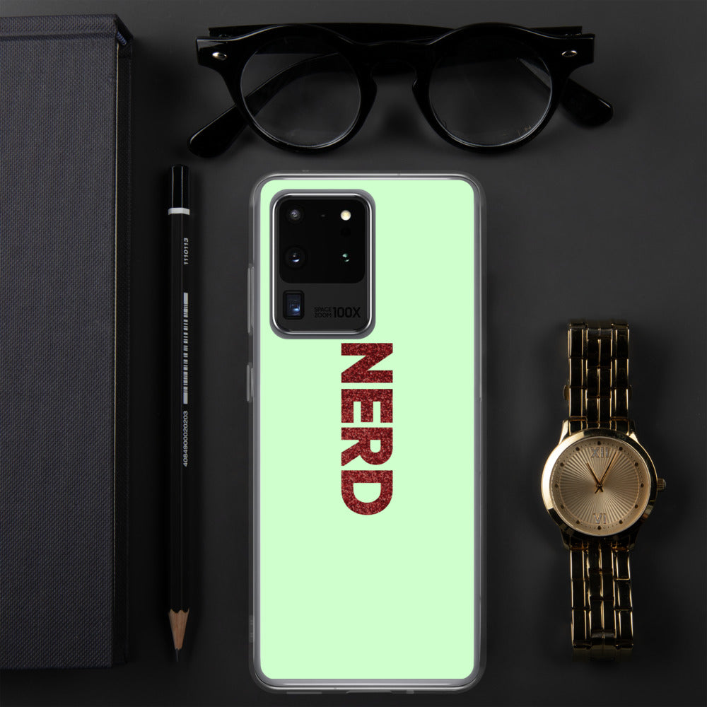 Nerd Samsung Case-Marching Arts Merchandise-Marching Arts Merchandise