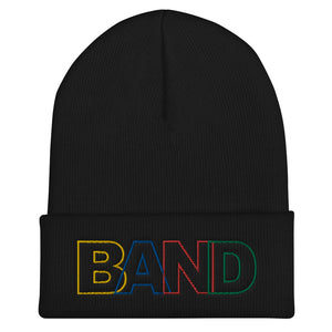 Basic Band Marching Band Cuffed Beanie-Beanie-Marching Arts Merchandise-Black-Marching Arts Merchandise