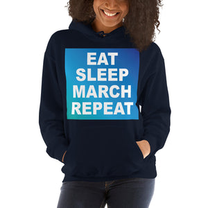 Repeat Unisex Hoddie-Marching Arts Merchandise-Marching Arts Merchandise