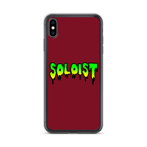 Soloist iPhone Case-Marching Arts Merchandise-iPhone XS Max-Marching Arts Merchandise