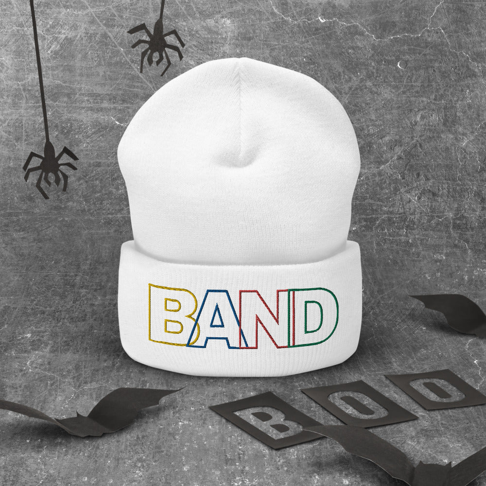 Basic Band Marching Band Cuffed Beanie-Beanie-Marching Arts Merchandise-Marching Arts Merchandise