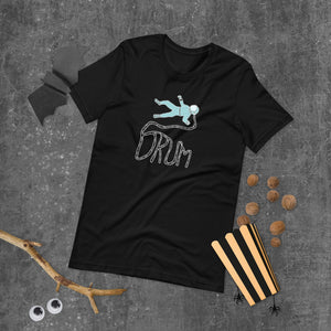 Astro Drum Percussion Short-Sleeve Unisex T-Shirt-Marching Arts Merchandise-Marching Arts Merchandise