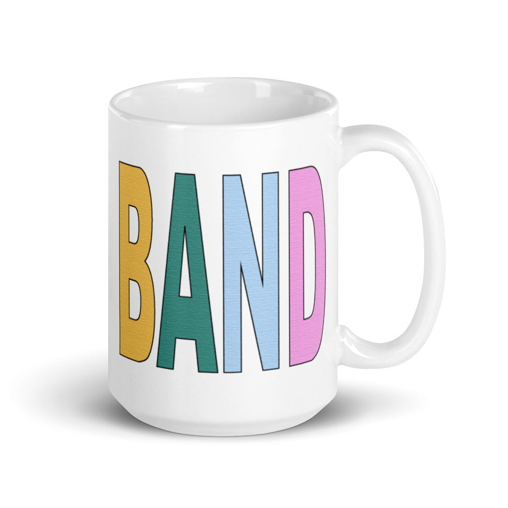 Textured Band Mug-Marching Arts Merchandise-15oz-Marching Arts Merchandise