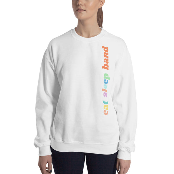 Eat Sleep Band Unisex Sweatshirt - Marching Arts Merchandise -  - Marching Arts Merchandise - Marching Arts Merchandise - band percussion color guard clothing accessories home goods