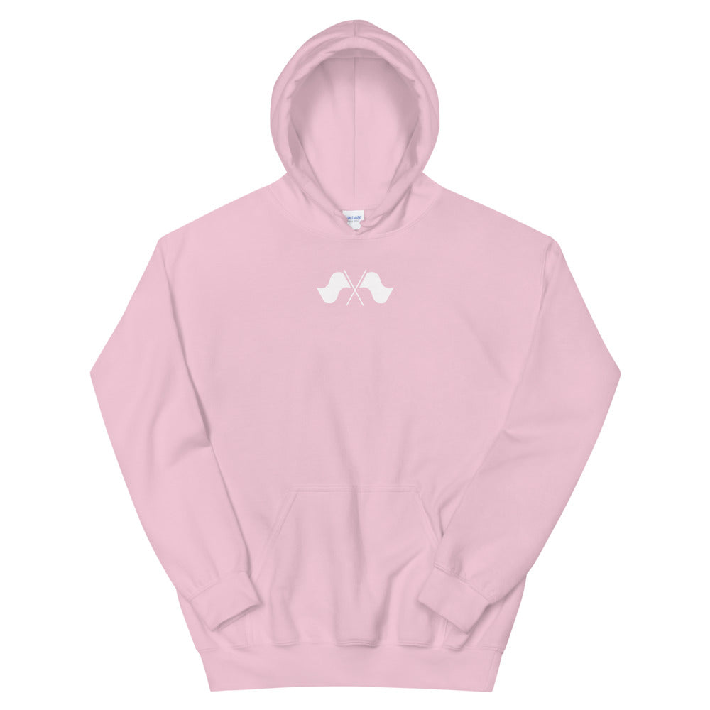 Minimalist Color Guard Unisex Hoodie-Marching Arts Merchandise-Light Pink-S-Marching Arts Merchandise