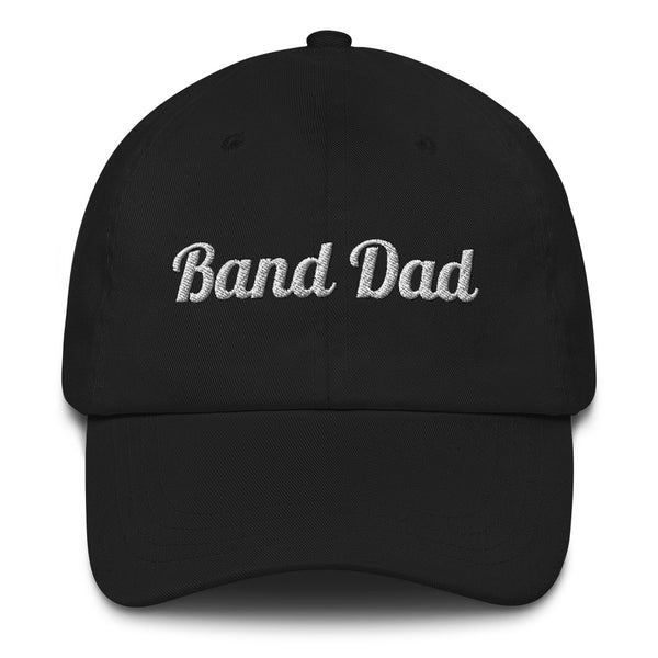 Band Dad Baseball Hat - Marching Arts Merchandise -  - Marching Arts Merchandise - Marching Arts Merchandise - band percussion color guard clothing accessories home goods