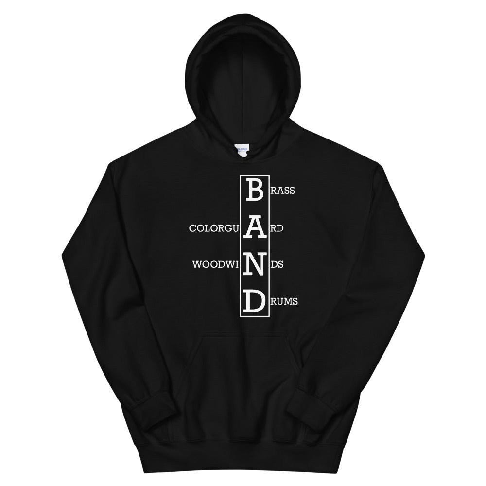 Crossword Unisex Hoddie-Marching Arts Merchandise-Marching Arts Merchandise