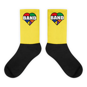 Stained Band Heart Socks-Marching Arts Merchandise-L-Marching Arts Merchandise