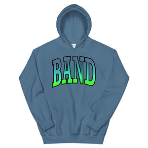Ombre Band Unisex Hoodie-Marching Arts Merchandise-Indigo Blue-S-Marching Arts Merchandise