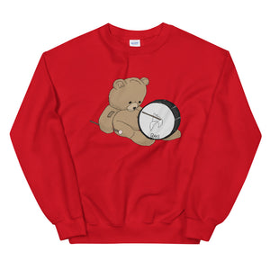 Teddy Bass Unisex Sweatshirt-Marching Arts Merchandise-Red-S-Marching Arts Merchandise
