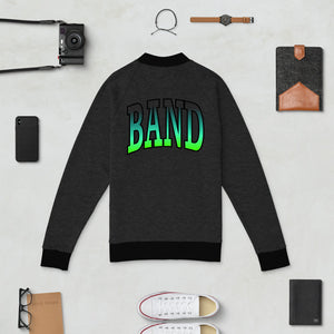 Ombre Band Bomber Jacket-Marching Arts Merchandise-Marching Arts Merchandise
