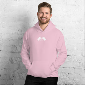 Minimalist Color Guard Unisex Hoodie-Marching Arts Merchandise-Marching Arts Merchandise