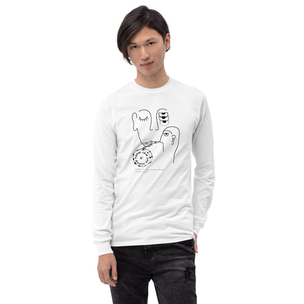 Line Bass Cymbal Percussion Long Sleeve Shirt-Marching Arts Merchandise-Marching Arts Merchandise