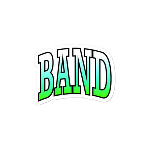 Ombre Band Bubble-Free Stickers-Marching Arts Merchandise-3x3-Marching Arts Merchandise