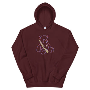 Teddy Rifle Color Guard Unisex Hoodie-Marching Arts Merchandise-Maroon-S-Marching Arts Merchandise