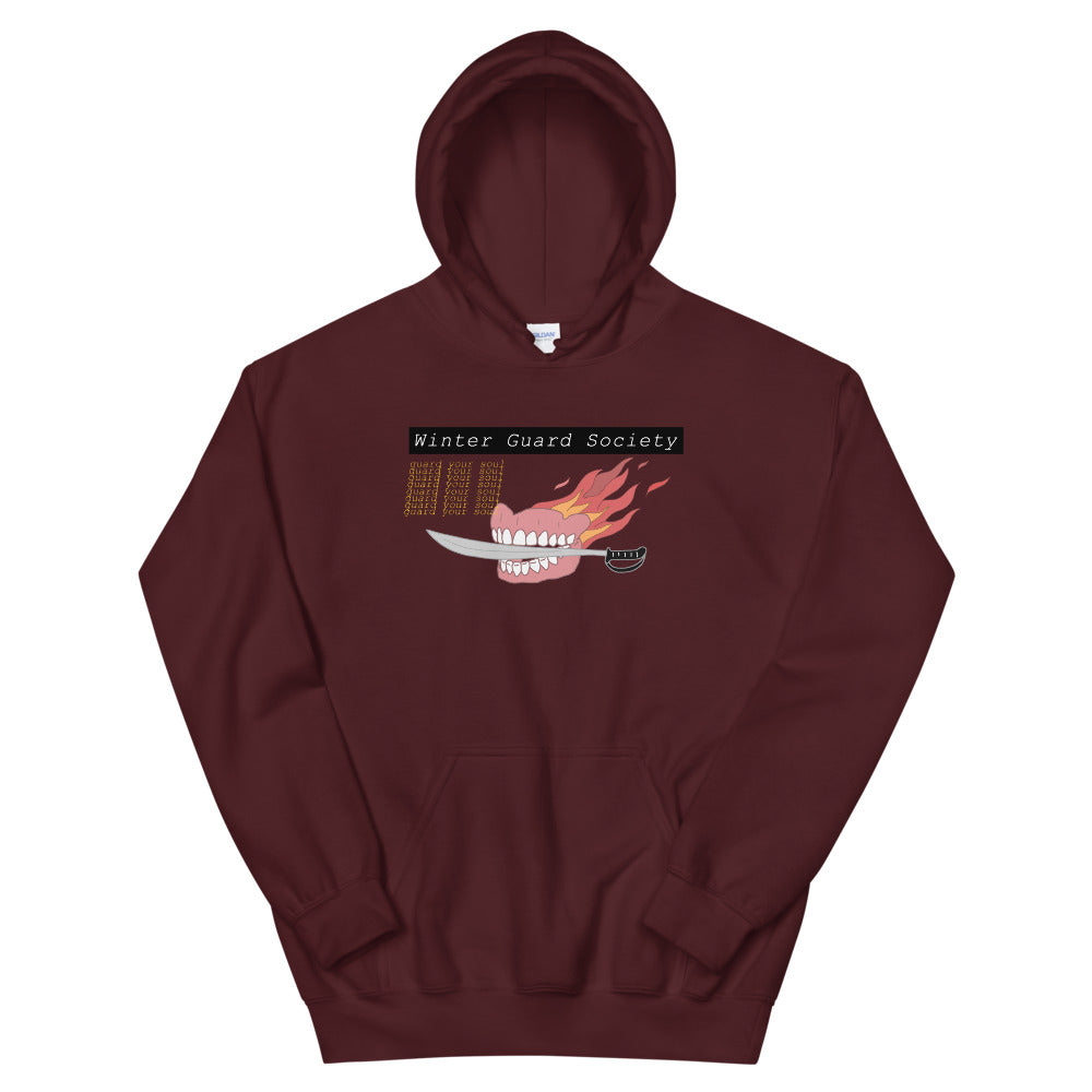 Winter Guard Saber Color Guard Unisex Hoodie-Marching Arts Merchandise-Maroon-S-Marching Arts Merchandise