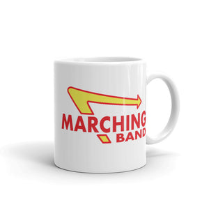 Marching Burgers Mug-Marching Arts Merchandise-11oz-Marching Arts Merchandise
