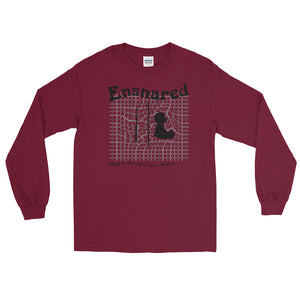 Teddy Snare Men's Long Sleeve Shirt-Marching Arts Merchandise-Maroon-S-Marching Arts Merchandise