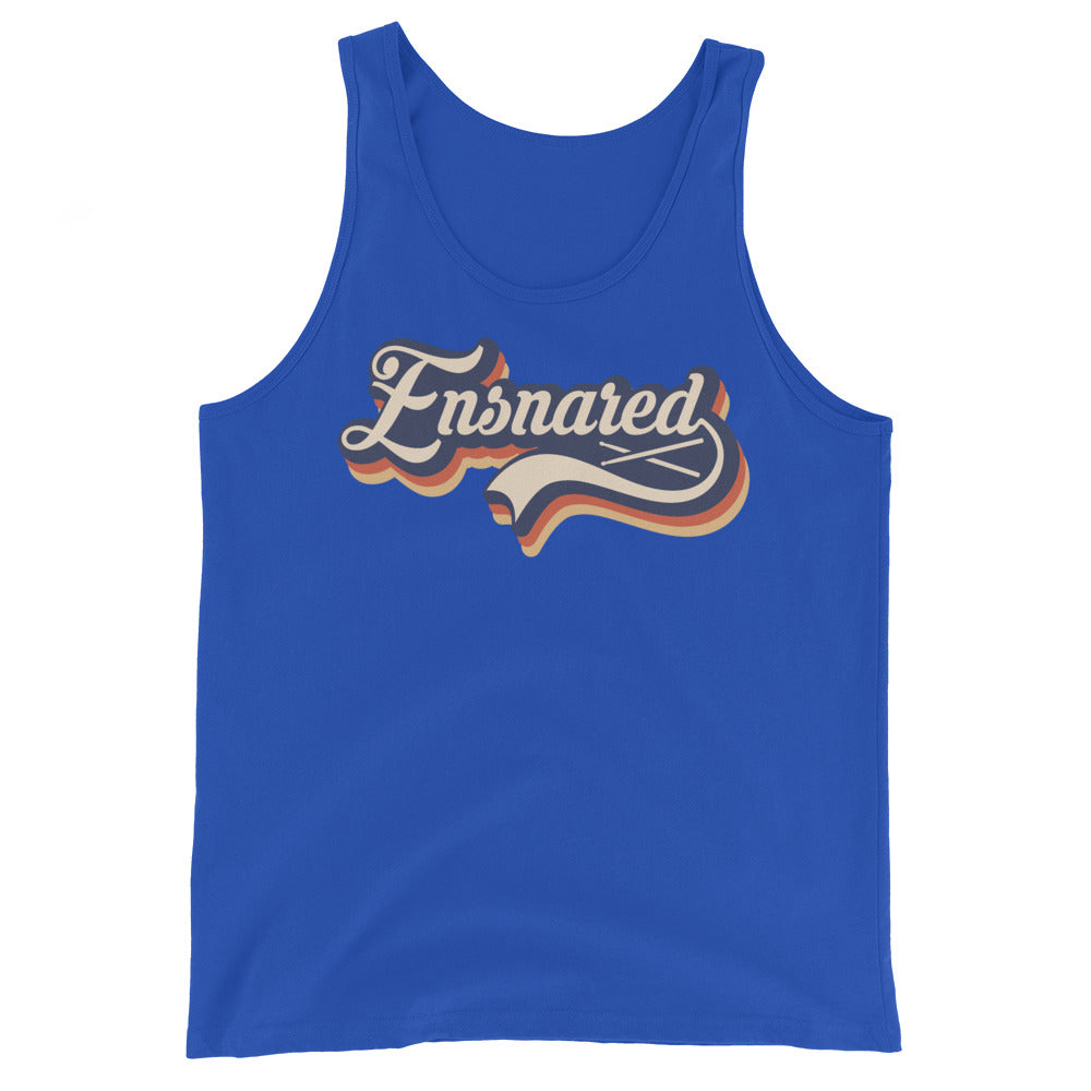 Ensnared Percussion Unisex Tank Top-Marching Arts Merchandise-True Royal-XS-Marching Arts Merchandise