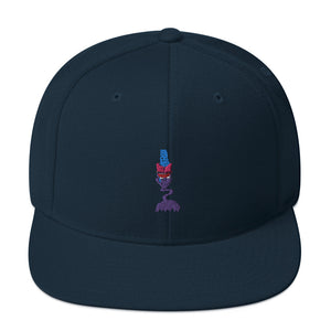 Zombie Drum Major Snapback Hat-Marching Arts Merchandise-Dark Navy-Marching Arts Merchandise