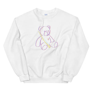 Teddy Rifle Color Guard Unisex Sweatshirt-Marching Arts Merchandise-White-S-Marching Arts Merchandise