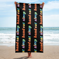 Eat Sleep Band Towel - Marching Arts Merchandise -  - Marching Arts Merchandise - Marching Arts Merchandise - band percussion color guard clothing accessories home goods