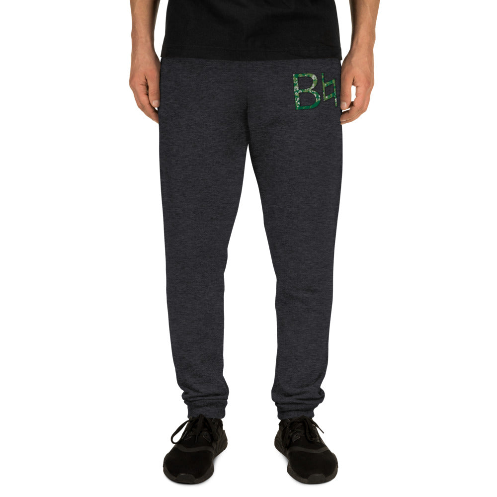 B Natural Marching Band Embroidered Unisex Joggers-Joggers-Marching Arts Merchandise-Marching Arts Merchandise