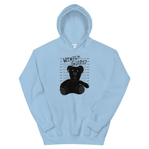 Winter Teddy Color Guard Unisex Hoodie-Marching Arts Merchandise-Light Blue-S-Marching Arts Merchandise