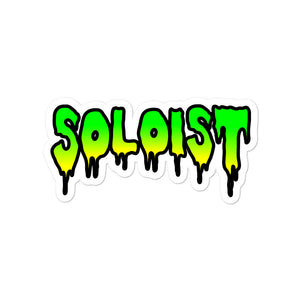 Soloist Bubble-Free Stickers-Marching Arts Merchandise-4x4-Marching Arts Merchandise